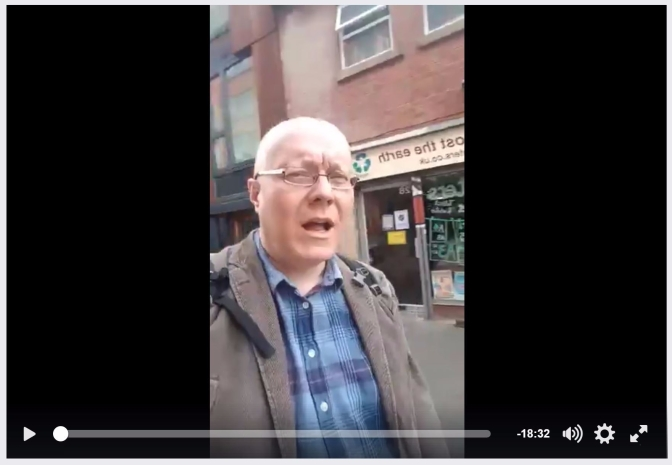 Facebook Live from Ziferblat, Manchester